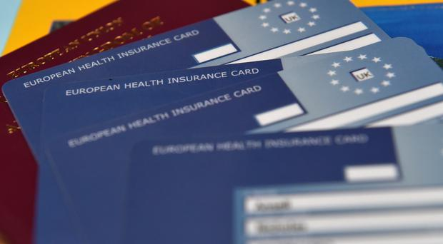 The Irish Government may cover the cost of European Health Insurance Cards for people in Northern Ireland after Brexit (PA)