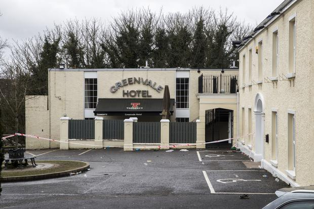 The Greenvale Hotel in Cookstown, Co Tyrone (Liam McBurney/PA)