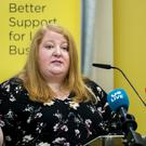 Naomi Long, leader of the Alliance Party of Northern Ireland (Liam McBurney/PA)
