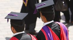 'Academics found that the most senior jobs, attracting the highest salaries, are most likely to go to white, male graduates who attended elite universities' (stock photo)