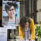 Two teenagers held over the murder of journalist Lyra McKee have been released without charge (Liam McBurney/PA)