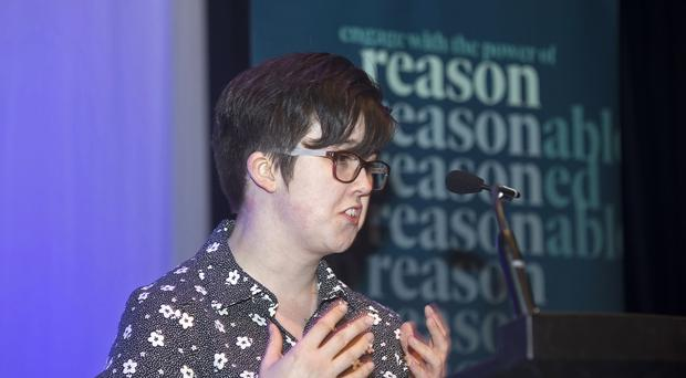 Lyra McKee, who was shot and killed (Kevin Cooper/Amnesty)