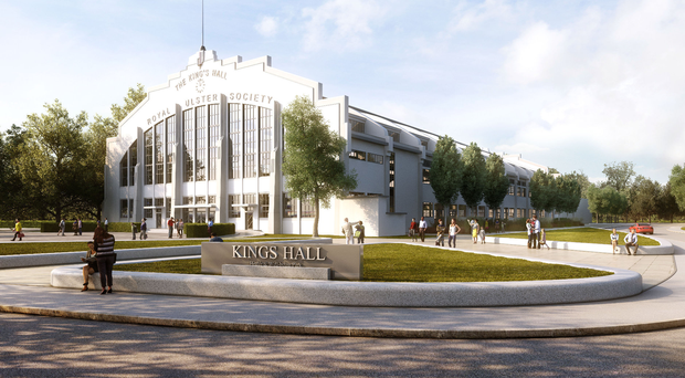 Artist's impression of the proposed King's Hall development