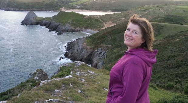 Karen Penny on her four-year trek around the coastlines of GB and Ireland