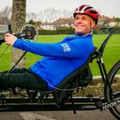 Mark Pollock training for the County Kerry challenge
