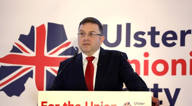 Robin Swann has called for the resumption of Stormont talks without precondition (UUP/PA)