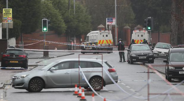 Police have arrested a 63-year-old man in connection with the murder of Jim Donegan who was shot dead in West Belfast (PA)