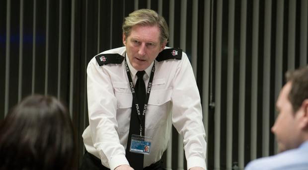 Adrian Dunbar as Superintendent Ted Hastings in Line of Duty