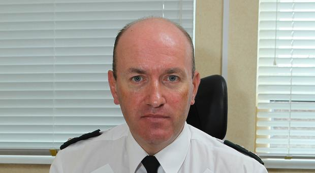 PSNI Chief Superintendent Alan Todd