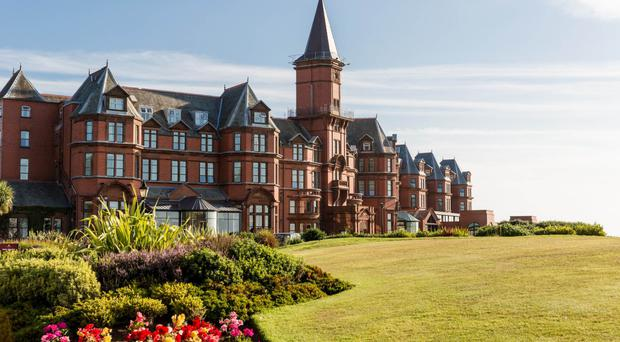 The event was held at The Slieve Donard Hotel in Co Down