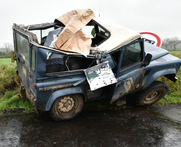 The recovered cash machine