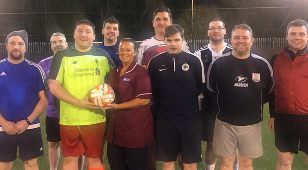 The Sands United FC Maiden City team