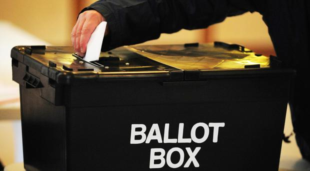 Voting in the council elections in Northern Ireland has closed (PA)