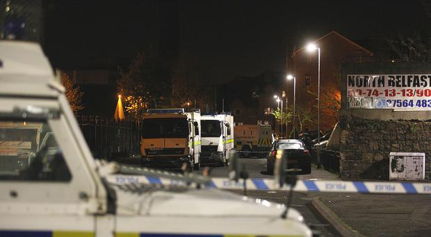 A Scottish Conservative councillor joked about people who 'tested explosives' in Belfast. (Daren McMullan/PA)