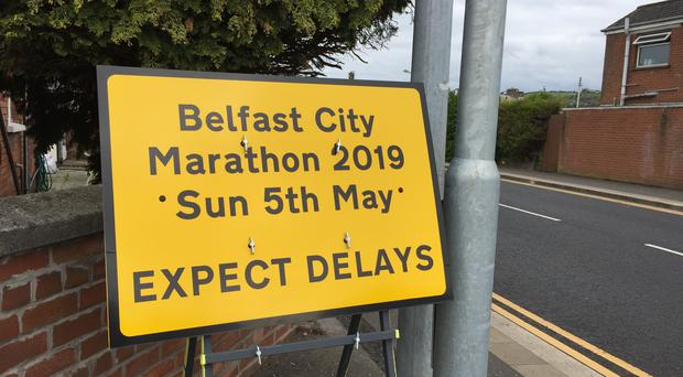 Organisers of the Belfast City Marathon have admitted that the route was too long (David Young./PA)
