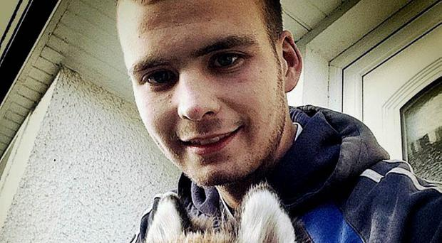 Freddy McKendry who died in a crash in Loughgiel on Friday