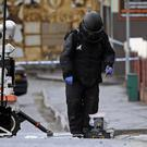 A bomb disposal expert at the scene in north Belfast