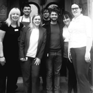 Daniel Radcliffe with staff at the Belmont House Hotel