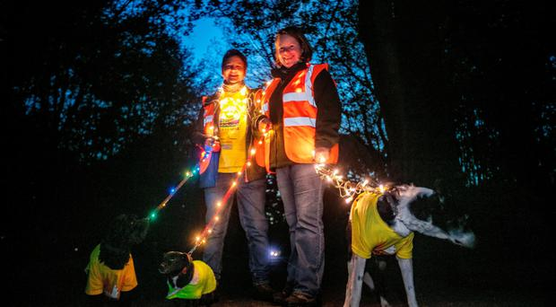 The Darkness Into Light event held in Ormeau Park in Belfast