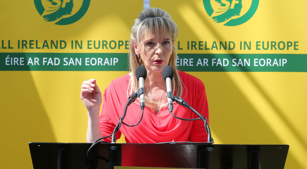 Martina Anderson at Sinn Fein's manifesto launch at Belfast's Waterfront Hall.