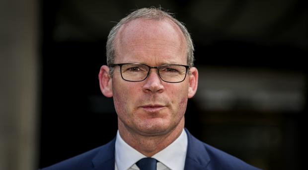 Simon Coveney has expressed concern about 'loose' comments following Defence Secretary Penny Mordaunt's intervention on protecting veterans (Liam McBurney/PA)