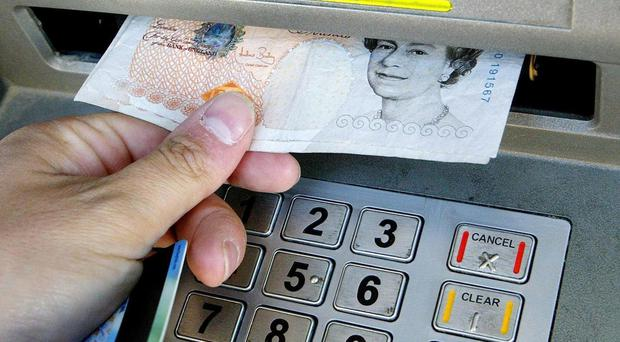 The men were charged in connection with ATM raids in Northern Ireland