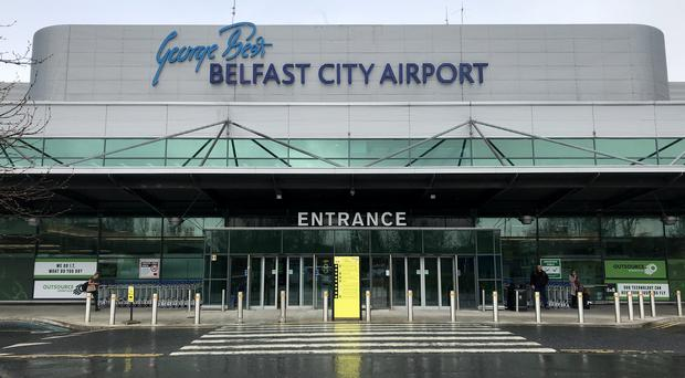 Additional checks were conducted on all fuel at the Belfast City Airport after the incident (Liam McBurney/PA)