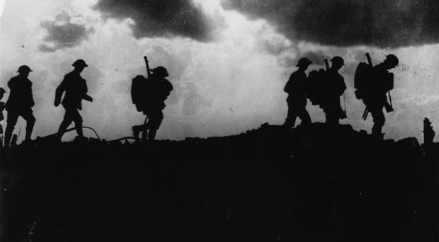 Soldiers in the First World War
