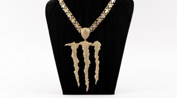 A diamond encrusted 'Monster' necklace worth £170k