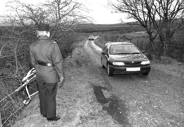 The bog in Belcoo where the body was found (Impartial Reporter/PA)