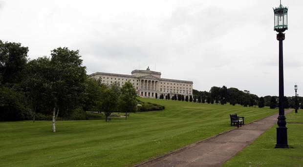 Parliament Buildings at Stormont, Belfast (Paul Faith/PA)