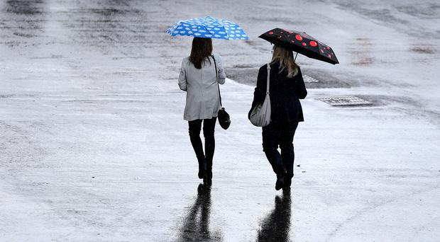 Rain is expected this weekend across Northern Ireland