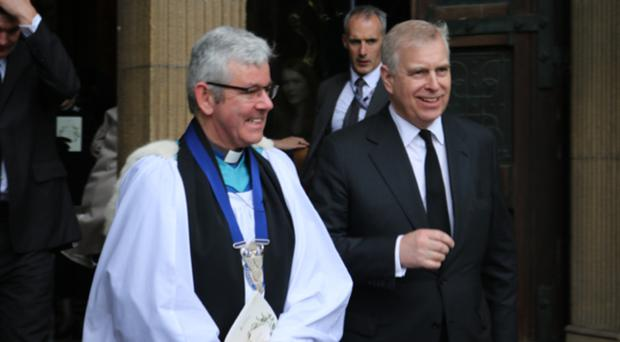The Dean with the Duke of York