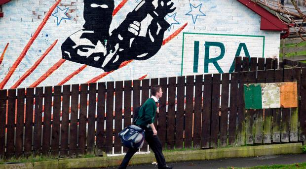The New IRA were behind the device planted under a police officer's car