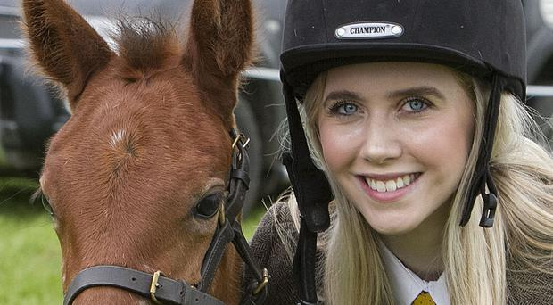 Kirstin McClure from Cookstown with her pony Lima Ardtray Willow at Armagh Show