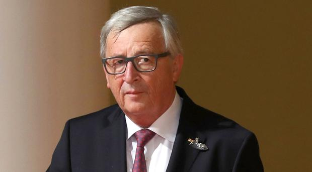 Jean-Claude Juncker said whoever takes over at No 10 will have to respect the agreement between the UK Government and the EU (Matt Cardy/PA)