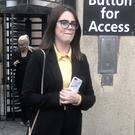 Nicola Watson leaves Newry Crown Court