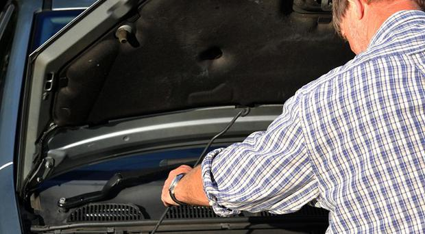 A decrease in activity in the motor vehicle repair trade hit economic activity
