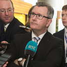 Sir Jeffrey Donaldson used his trip to Dublin to launch an attack on the Irish government