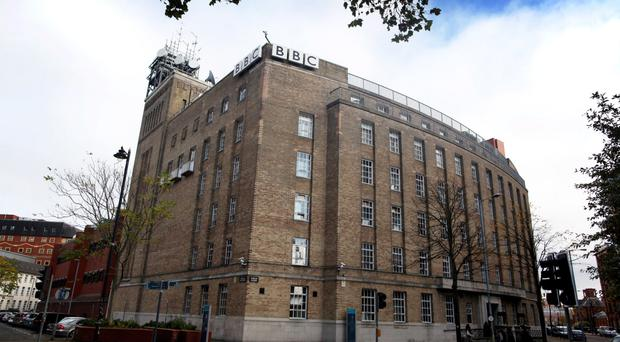 The BBC's Broadcasting House in Belfast