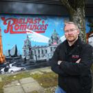 Mark Wylie of DC Tours, who takes tourists to various locations around Belfast