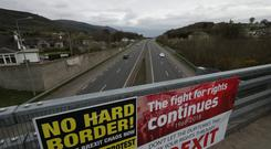 The Irish border has been the main sticking point in the EU Brexit talks. (Niall Carson/PA)