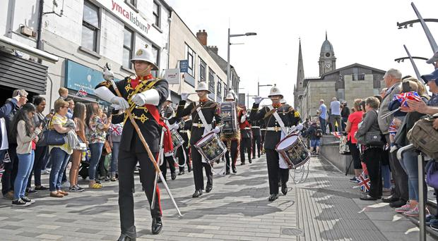 Armed Forces Day event in Lisburn