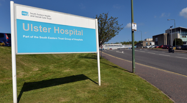 The Ulster Hospital's emergency department is dealing with a high influx of patients