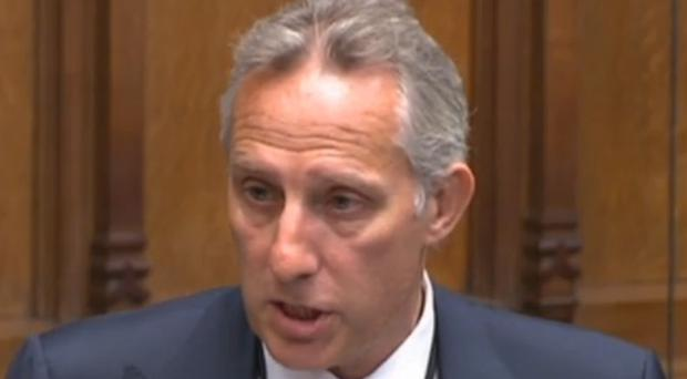 Last year DUP MP Ian Paisley apologised to the House of Commons for failing to register two family holidays funded by the Sri Lankan government, which he previously estimated was worth £50,000 (PA Archive)
