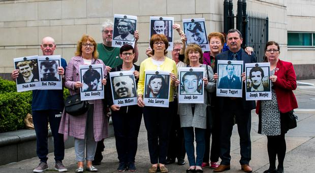 Families of the people who were killed during a disputed series of shootings in the Ballymurphy area of Belfast in August 1971