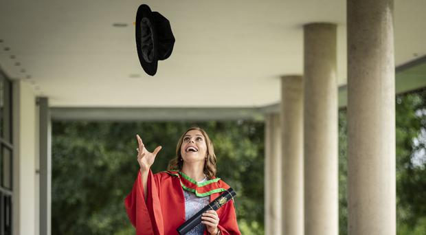 Katie Mullan received an honorary degree from Ulster University
