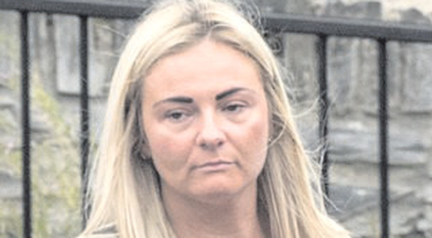 Laura McGavigan was fined £100 and given three penalty points on her licence
