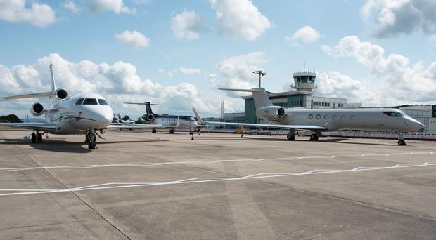 City of Derry Airport has witnessed a marked increase in traffic during Open