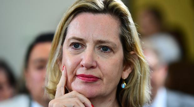 Secretary of State for Work and Pensions Amber Rudd (Victoria Jones/PA)
